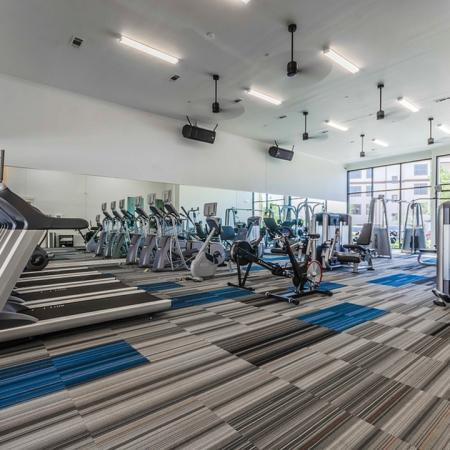 State-of-the-Art Fitness Center | Apartments In Garland | The Towers at Spring Creek