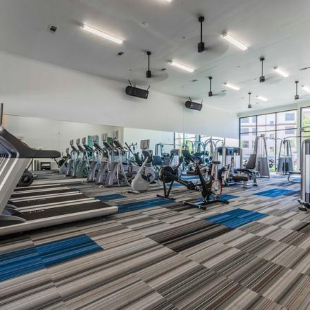 State-of-the-Art Fitness Center   Apartments In Garland   The Towers at Spring Creek