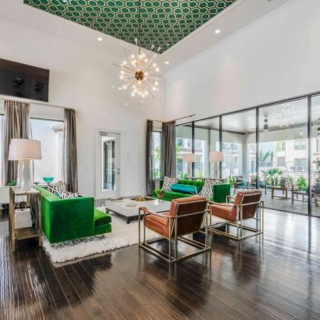 Elegant Community Club House | Apartments In Garland | The Towers at Spring Creek
