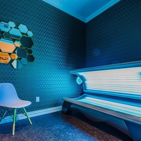 Resident Tanning Bed | Apartments In Garland TX | The Towers at Spring Creek