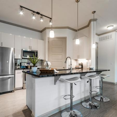 Upscale Kitchen Area | Apartments For Rent In Richardson Texas | The Mansions at Spring Creek