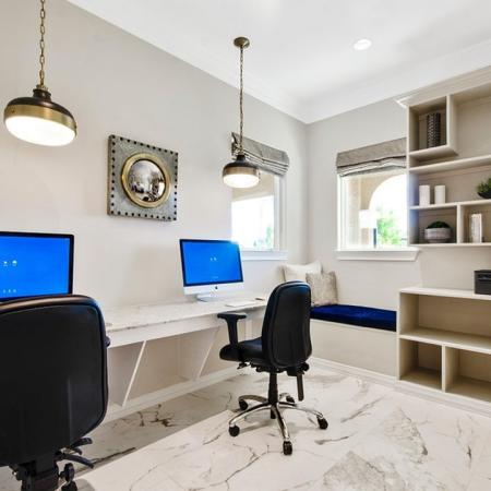 Well-Appointed Business Center with 27 iMac Computers and PCs
