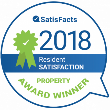 SatisFacts Resident Satisfaction Award | Apartments In Magnolia | The Grand Estates Woodland