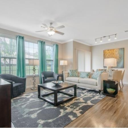 Spacious Living Area | San Antonio Texas Apartments | The Estates at Briggs Ranch