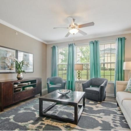 Elegant Living Area | Apartment Homes In San Antonio | The Estates at Briggs Ranch