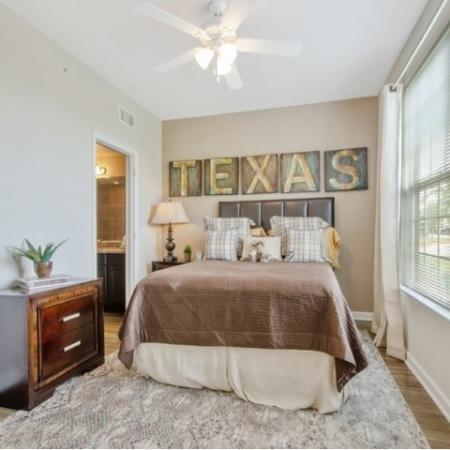 Spacious Master Bedroom | San Antonio Texas Apartments | The Estates at Briggs Ranch