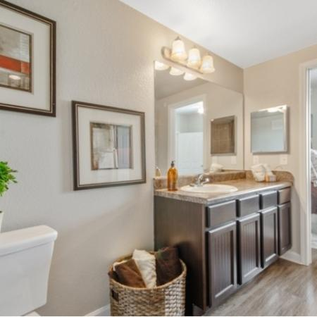 Ornate Bathroom | Apartments in San Antonio | The Estates at Briggs Ranch