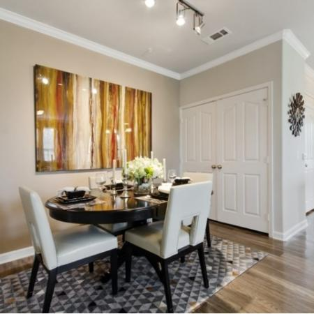 Luxurious Dining Room | San Antonio Texas Apartments for Rent | The Estates at Briggs Ranch