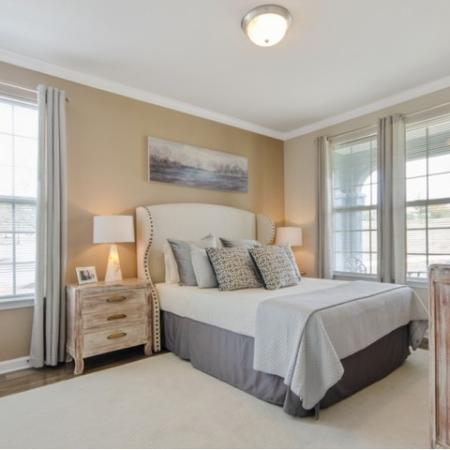Luxurious Master Bedroom | Apartments in San Antonio | The Estates at Briggs Ranch