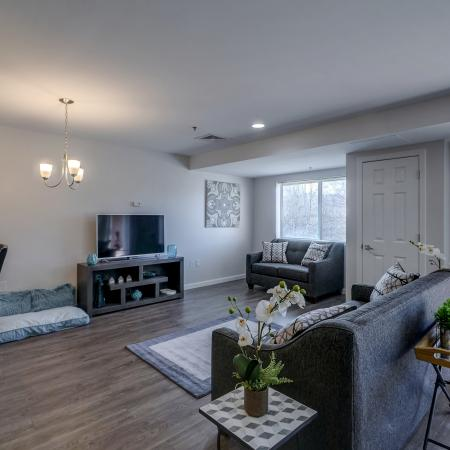 Spacious Living Room | Apartments in Manchester | Carisbrooke at Manchester