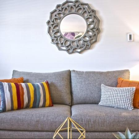 Modern Living Room | Princeton Dover | Dover NH Apartment Buildings