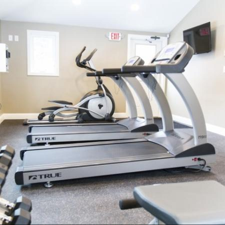 State of the art fitness center | Princeton Dover | Apartment Complex Dover NH