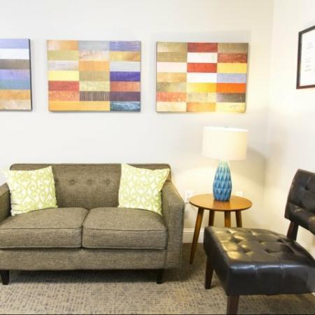 Modern open living room floor plan | Princeton Dover | Dover NH Apartment Buildings