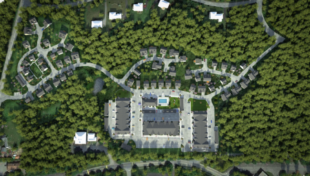 Top view of our Village Green Littleton Apartments for rent in Littleton
