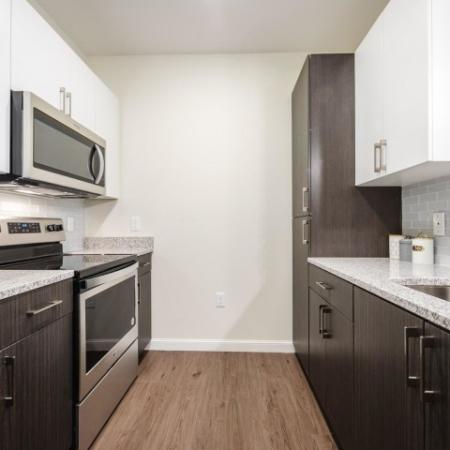 Streamlined Kitchen | Chelmsford Apartments | Mill and 3 Apartments