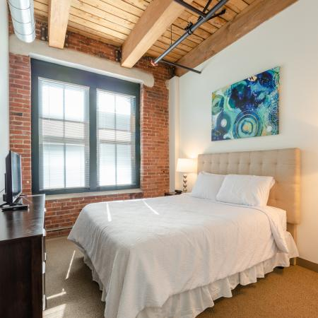 Luxurious Bedroom | Boston Seaport Apartments | 381 Congress