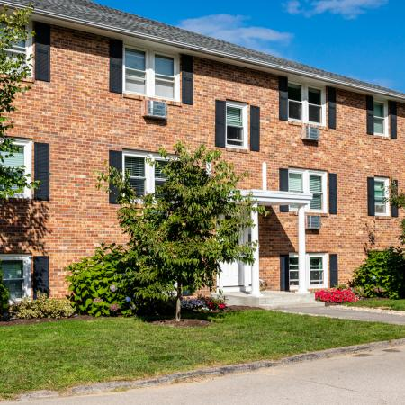 Exterior view from parking area | Princeton Dover | Apartment Complex Dover NH