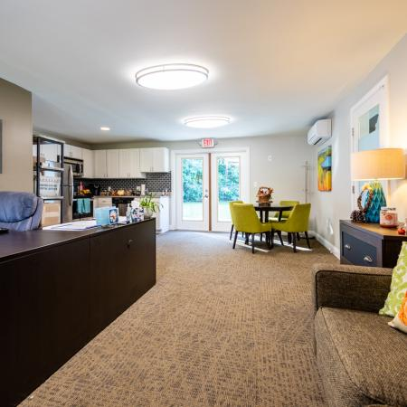 Lounge Area for Residents | Princeton Dover Apartments