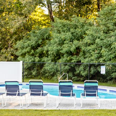 Pool | Princeton Dover | Apartment Complex Dover NH