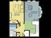 1 Bedroom Floor Plan | Apartments For Rent In Nashua Nh | Boulder Park