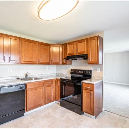 State-of-the-Art Kitchen in apartment at Princeton Reserve, Dracut MA.