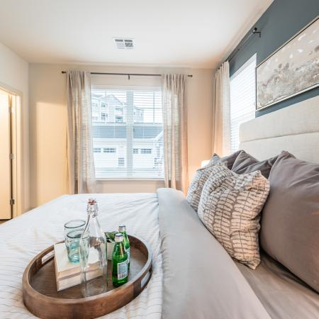 Elegant Bedroom | Map | Our Neighborhood | Apartments In North Andover | Princeton North Andover
