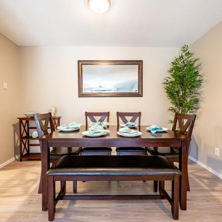 Elegant Dining Room | 3 Bedroom Apartments Nashua Nh | Forest Ridge Apartments