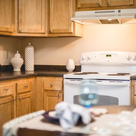 Renovated kitchens in select apartments - Princeton Crossing | Apartments for Rent in Salem MA