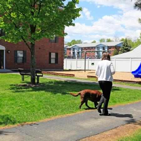 Welcoming pet-friendly environment at Princeton Place our apartments for rent in Worcester Ma