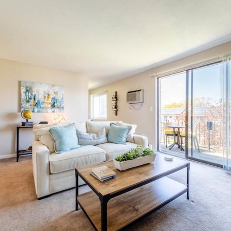 Spacious Living Room   Apartments in Dracut, MA  