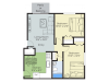 2 Bedroom Floor Plan | Apartment Complex In Nashua Nh | Pheasant Run Apartments
