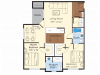 Floor Plan 4 | Apartments For Rent In Westford MA | Princeton Westford