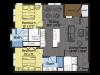 two bedroom annex floor plan