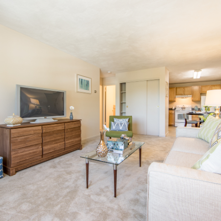 Free flowing living space at Princeton Crossing | Apartment for Rent in Salem, MA