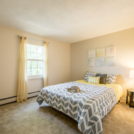 Spacious bedroom at Princeton Crossing | Apartment for Rent in Salem, MA