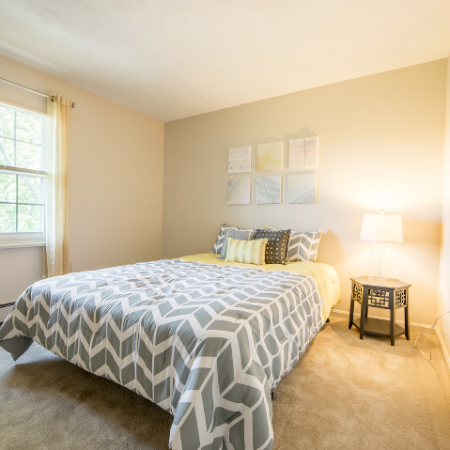 Roomy bedroom at Princeton Crossing | Apartment for Rent in Salem, MA
