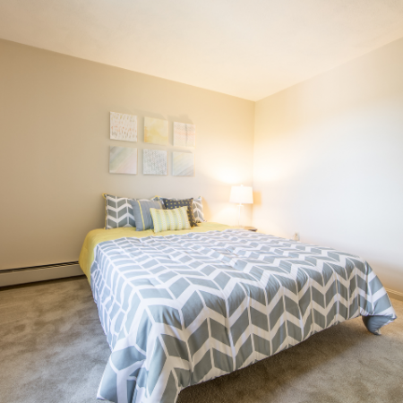 Bedroom with carpet at Princeton Crossing | Apartment for Rent in Salem, MA