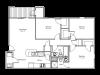 floor plan image of 3 bedroom and 2 bathroom apartment at Quail Creek