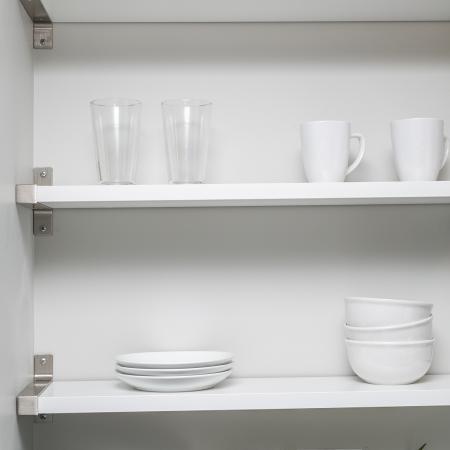 Open shelving at Boomer Town Studios