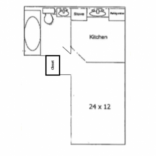 Studio C Floorplan