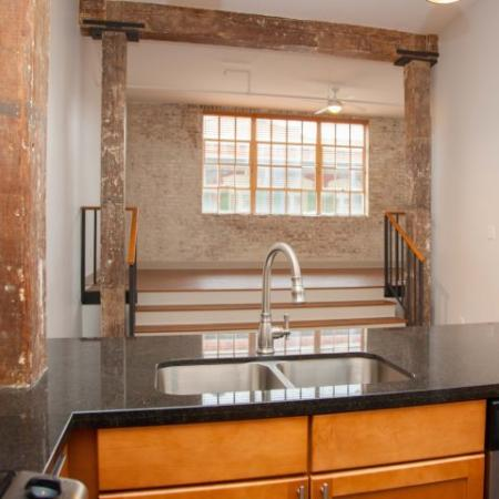 Exposed Brick - DH Holmes