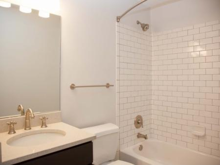 Bathroom with ShowerTub - DH Holmes