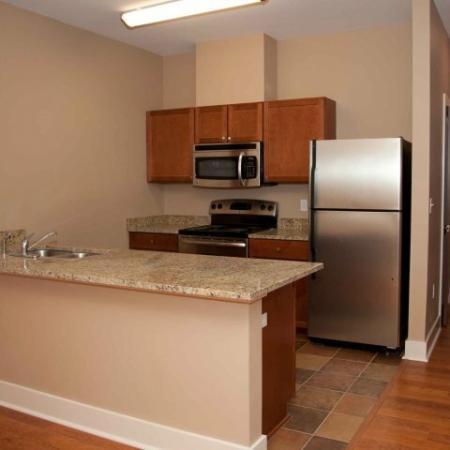 Houma La Apartment Kitchen