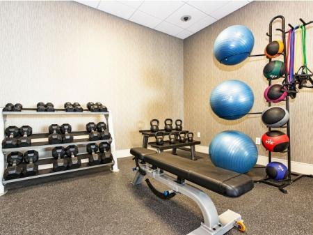 Fitness Center in Dallas TX Apartment