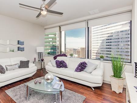 LTV Tower Apartments Living Area