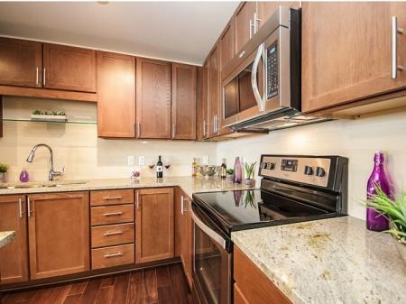 LTV Tower Apartments Kitchen