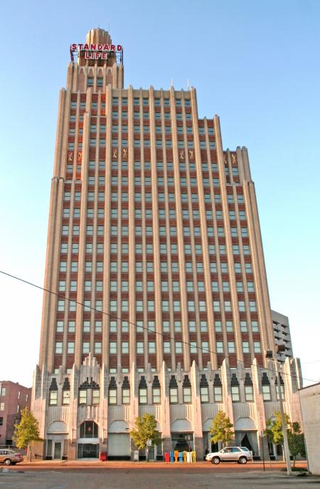 Towers 18 Floors over Downtown Jackson