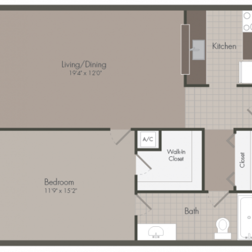Floorplan 2 | Sunset Palms