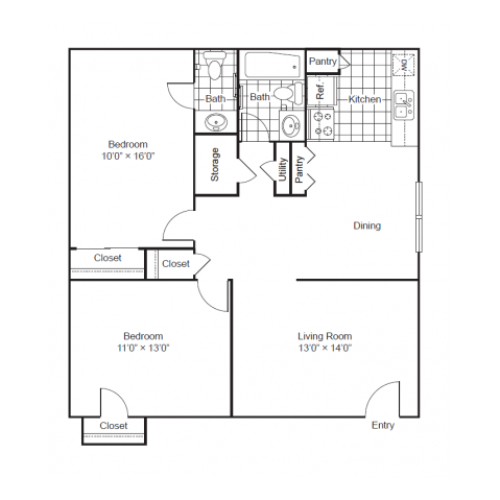 Park West|Floor Plan