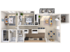 Floor Plan 3 | Peachtree Place